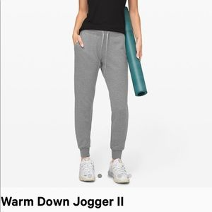 Lulu lemon warm down jogger